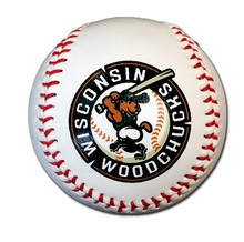 Woodchucks Logo Baseball